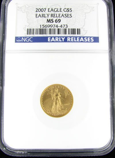 19: 2007 $5 U.S. Eagle Gold Coin-Investment Potential