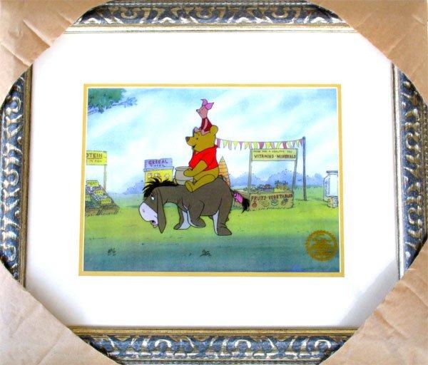 43: Limited Edition Walt Disney Winnie The Pooh Serigra
