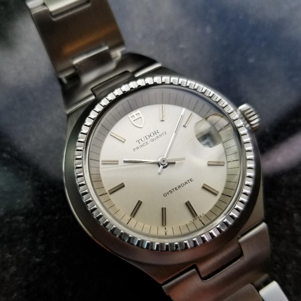 *Rolex Vintage Tudor Prince Quartz 1979 Oysterdate