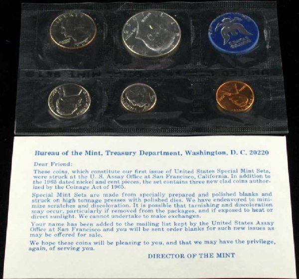 23: 1965 U.S. Mint Set Coin-Investment Potential
