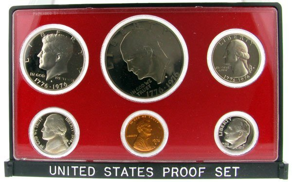 17: 1976 US Proof Set Coin-Investment Potential