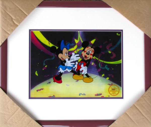 5: Limited Edition Walt Disney Mickey and Minnie Mouse