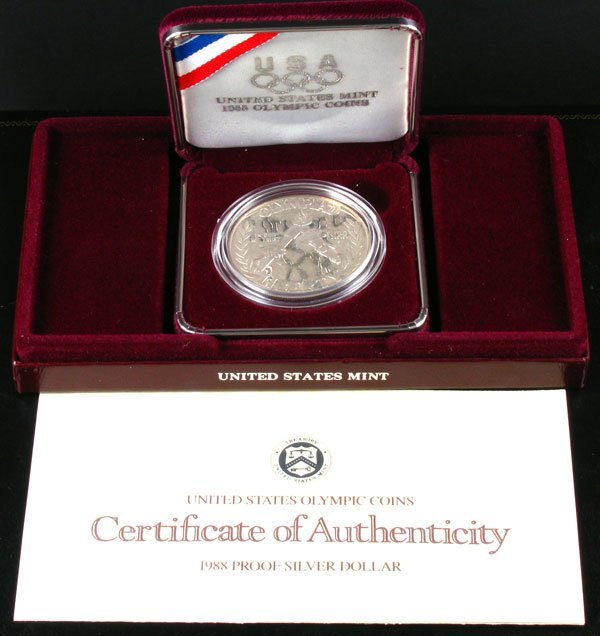 23: 1988 U.S. Mint Olympic Coin-Investment Potential