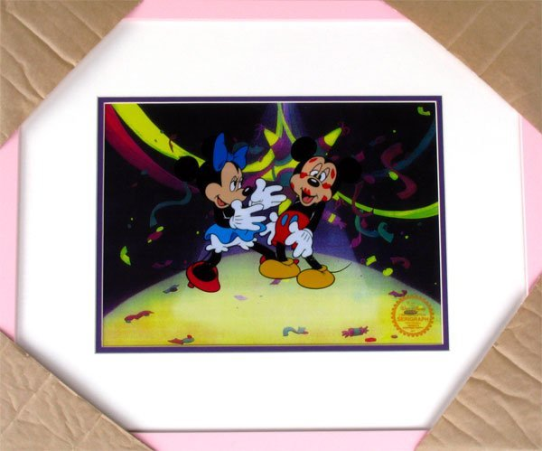 35: Limited Edition Walt Disney Mickey and Minnie Mouse