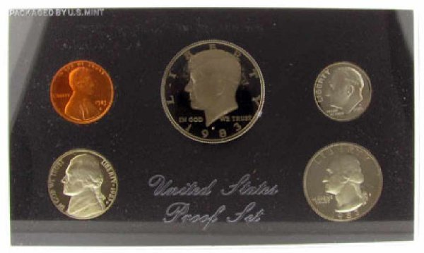 15: 1983 US Proof Set Coin-Investment Potential