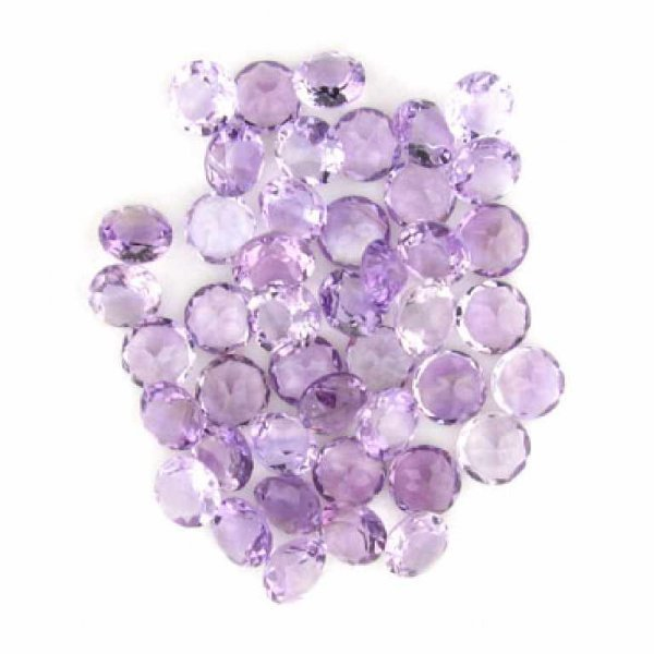37: 106.30CT Round Amethyst Parcel-Investment