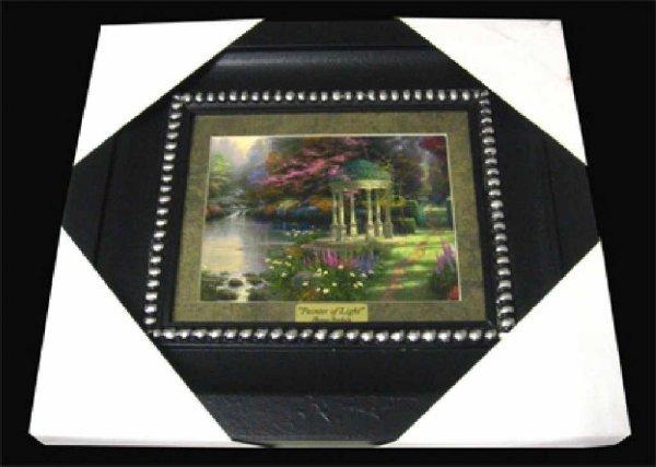 45: THOMAS KINKADE Museum Framed Calendar Print