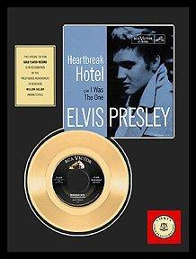 27: 'Heartbreak Hotel'' Gold Record-Fan Favorite (Blue