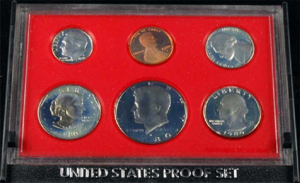 19: 1980 U.S. Proof Set Coin-Investment Potential