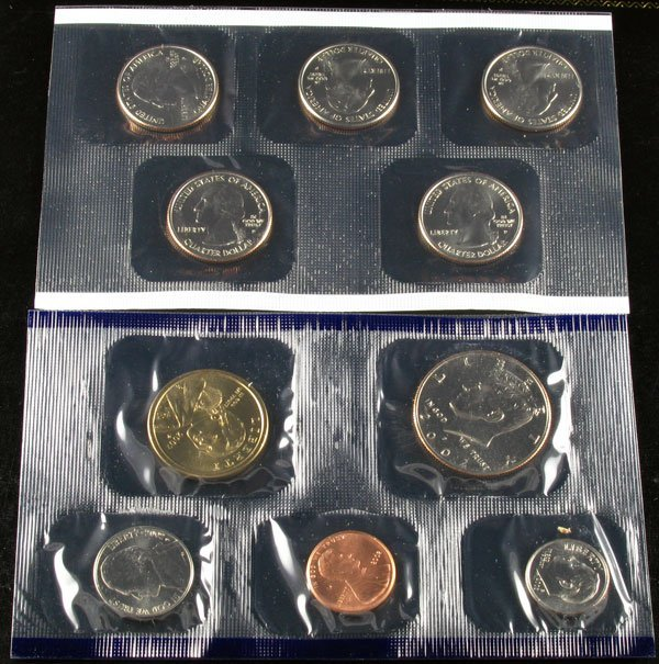 1: 2002 U.S. Mint Set Coin-Investment Potential
