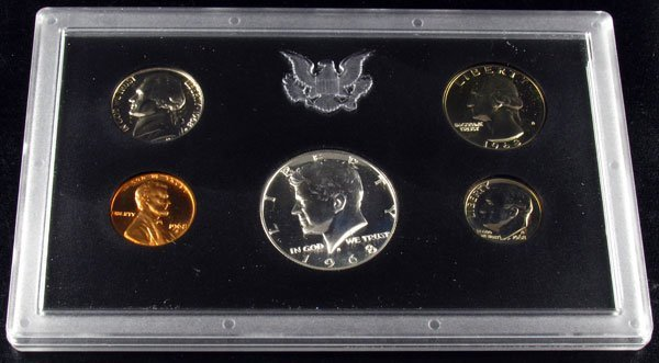 19: 1968 U.S. Proof Set Coin-Investment Potential