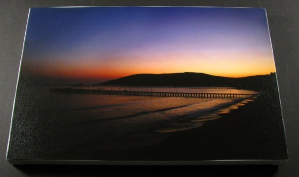31: Avila Sunset - Stretched Canvas Giclée Print