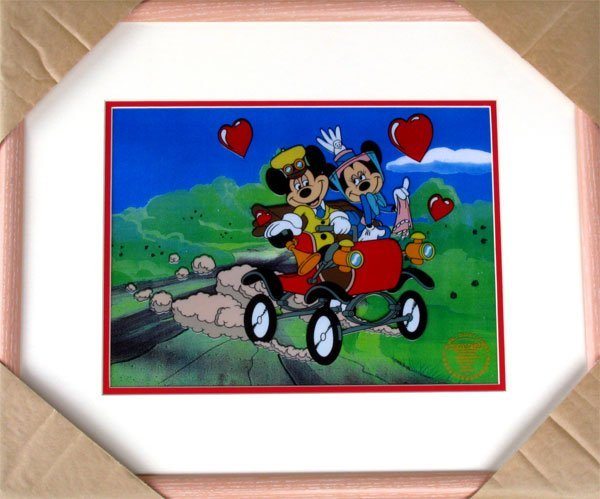 37: Limited Edition Walt Disney Mickey and Minnie Mouse