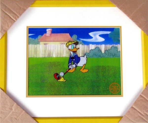 65: Limited Edition Walt Disney Donald Duck Serigraph