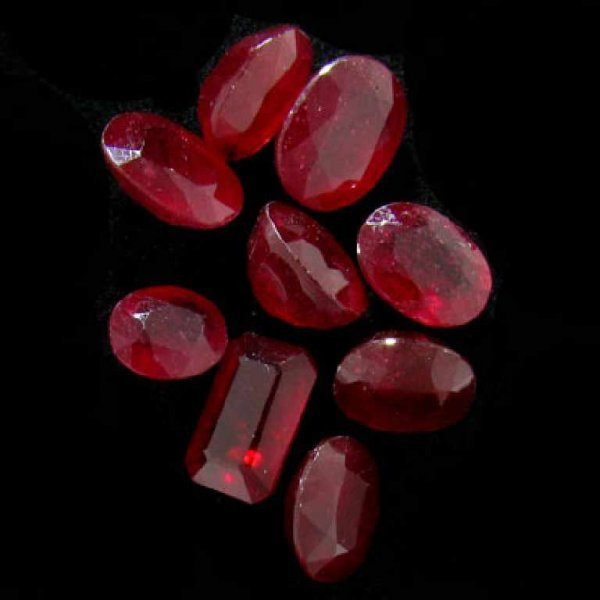 11: APP: 18k 19.99CT Ruby Parcel-Precious Gems