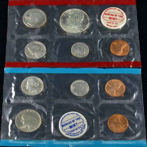 25: 1969 U.S. Mint Set Coin-Investment Potential