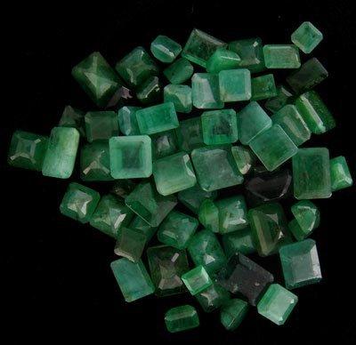 APP: 4.1k 50.78CT Square Emerald Parcel