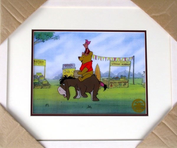 Limited Edition Walt Disney Winnie The Pooh Serigraph