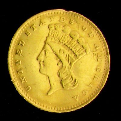 1883 $1 U.S. Indian Head Type Gold Coin - Investment