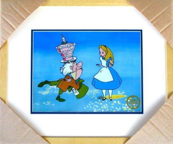 Limited Edition Walt Disney Alice in Wonderland Serigra