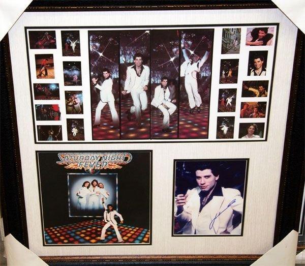 John Travolta-Authentic Signature-Saturday Night Fever