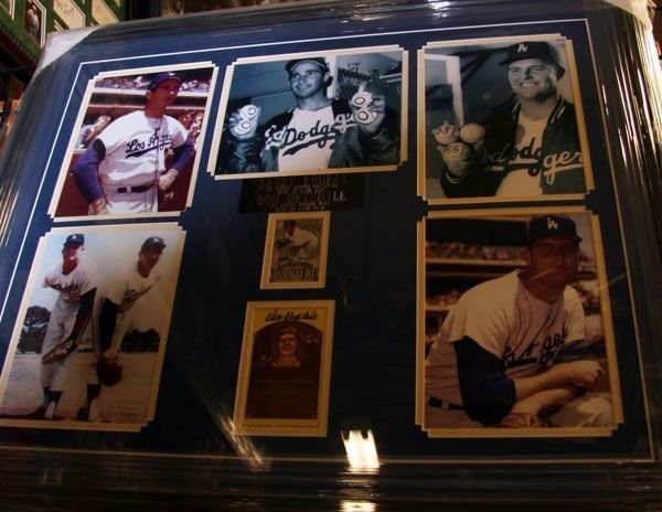 Dodger Greats-Koufax/Drysdale-Authentic Signatures