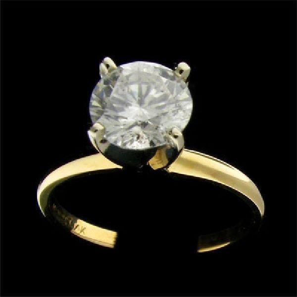 APP:$10.8k 14 kt. Gold, 1.42CT Diamond Ring