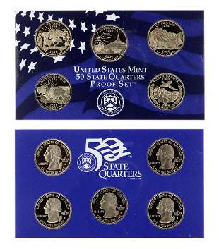 Rare 2006 US Mint Proof Coin Set Great Investment