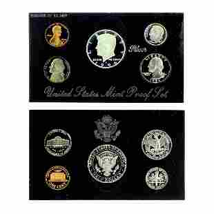 Extremely Rare 1994 U.S. Mint Silver Proof Coin Set