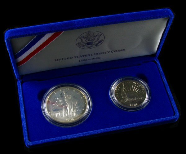 1986 U.S. Liberty Set Coin - Investment