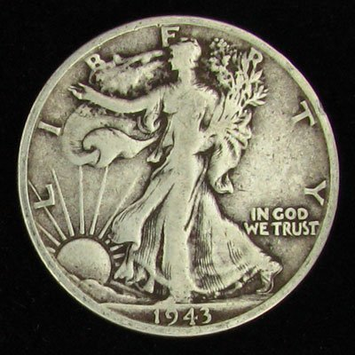 1943-S U.S. Walking Liberty Half Dollar Coin - Invest