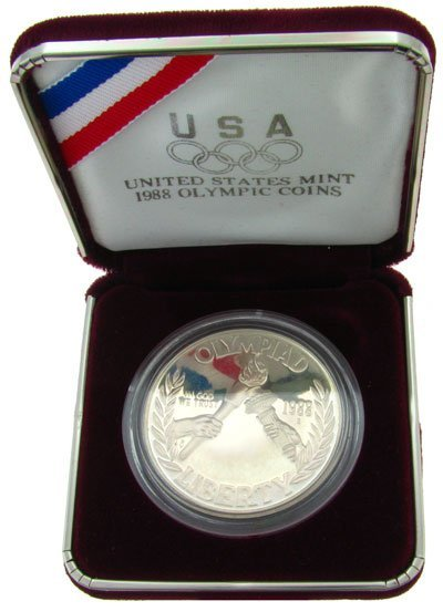 1988 U.S. Mint Olympic Coin - Investment