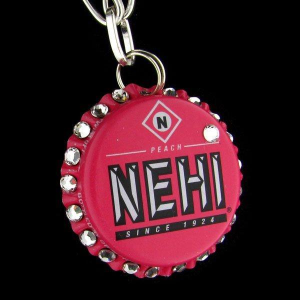 Swarovski Crystal Bottle Cap Necklace - NEHI