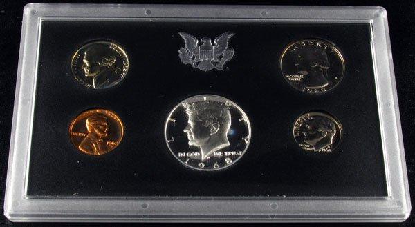 1968 U.S. Proof Set Coin
