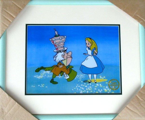 Limited Edition Walt Disney Alice in Wonderl& Serigraph