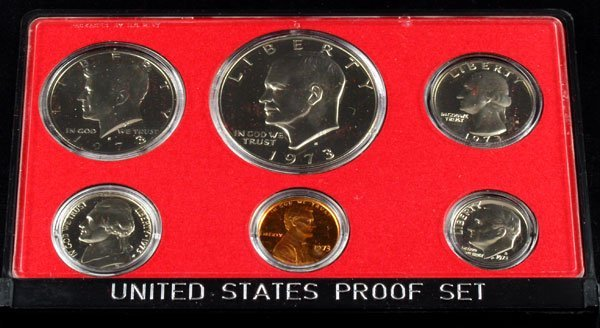 1973 U.S. Proof Set Coin - Investment