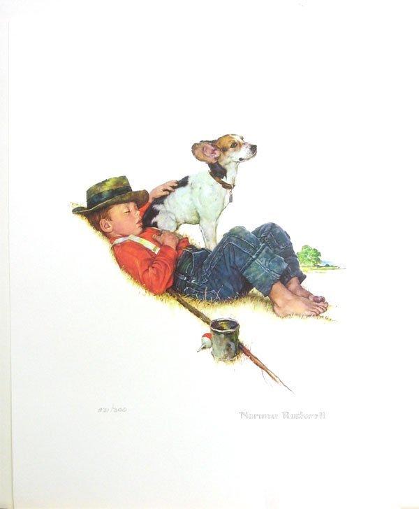 NORMAN ROCKWELL Adventures Between Adventures - Print
