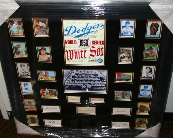 1959 World Series-Dodgers/WhiteSox-Authentic Signatures