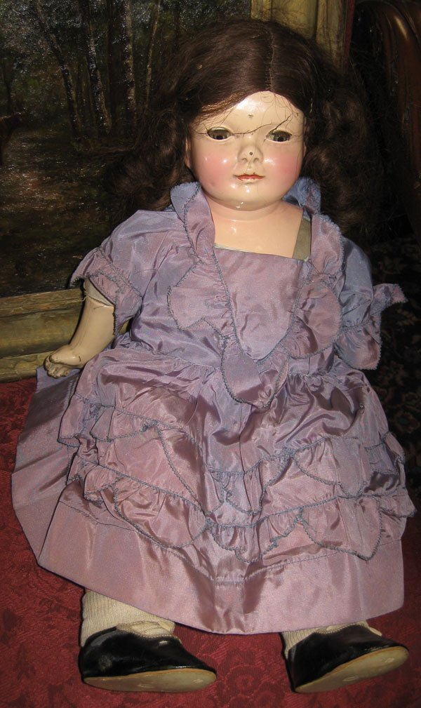 Strobel-Wilken Antique Character Doll