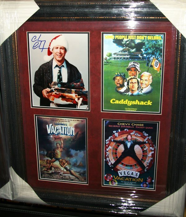 Chevy Chase-Authentic Signature