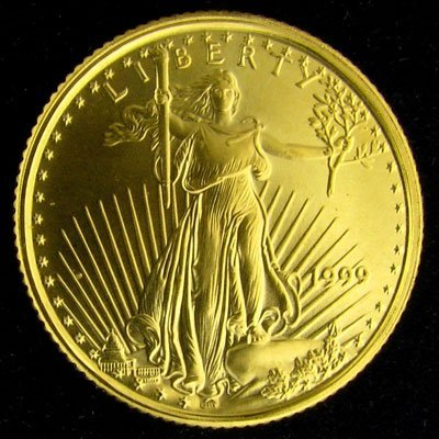 1999 $5 American Eagle Gold Coin - Investment