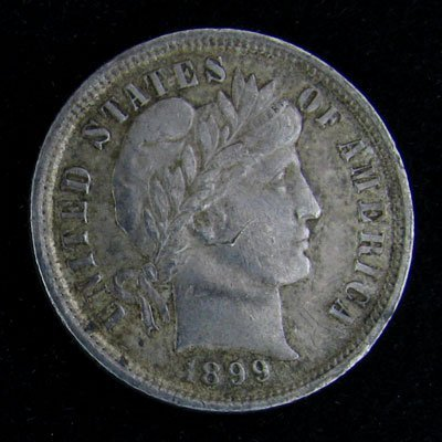 1899 Liberty Head Dime Coin - Investment