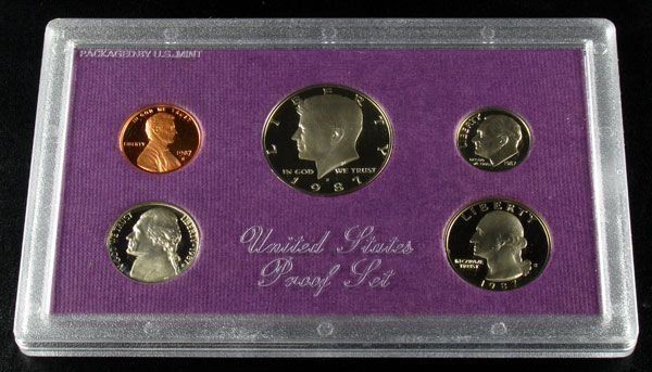 1987 U.S. Proof Set Coin - Investment