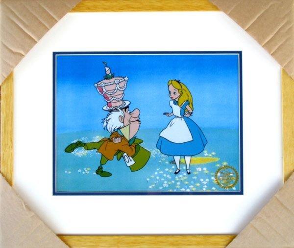 Limited Ed. Walt Disney Alice in Wonderland Serigraph