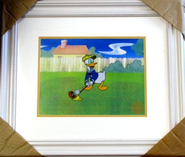 Limited Edition Walt Disney Donald Duck Serigraph