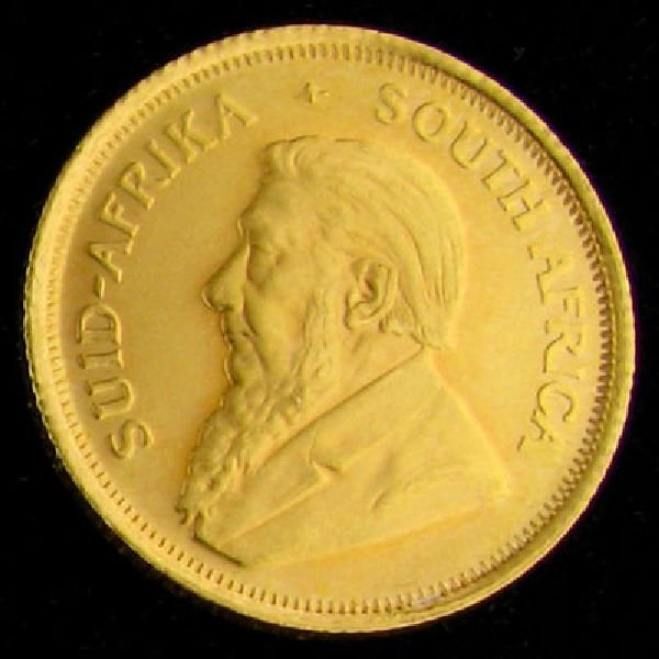 1980 Krugerrand 1/10 Gold Coin - Investment