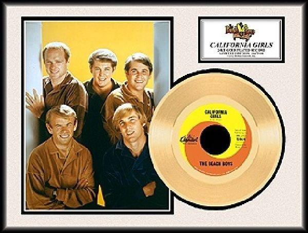 The Beach Boys ''California Girls'' Gold Record