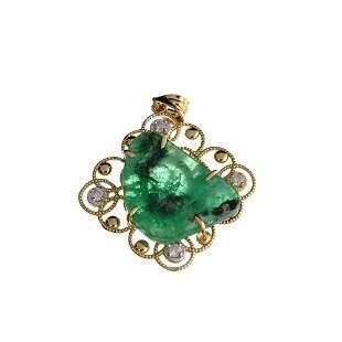 APP: 2.9k Fine Jewelry 14KT. Gold, 10.91CT Free Form