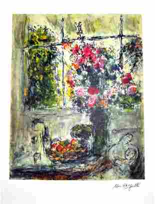 MARC CHAGALL Fruit and Flowers Print, I45 of 500