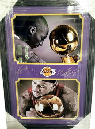 "*Outstanding Kobe Bryant and LeBron James 20"" x 28"""